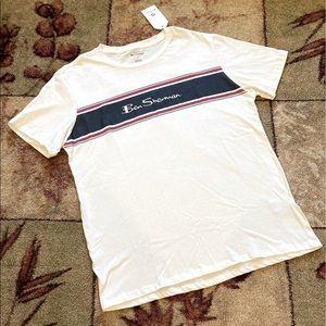 Ben Sherman Banner Logo Tee T-Shirt